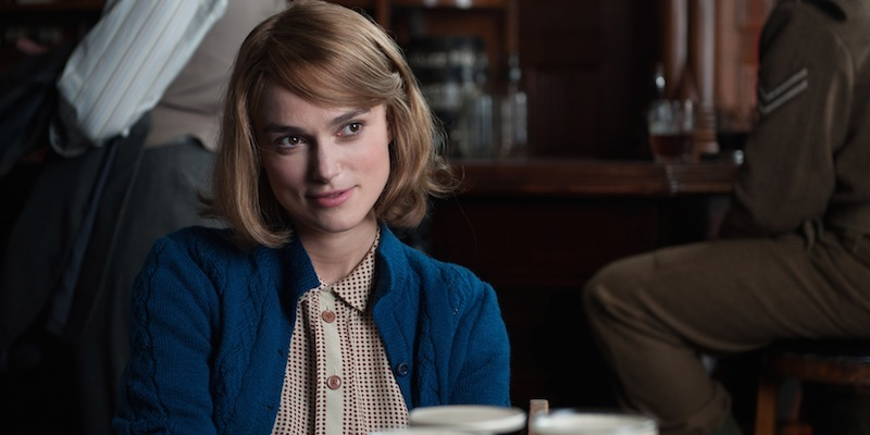 """Above: Keira Knightley in """"The Imitation Game."""" Studio Canal."""