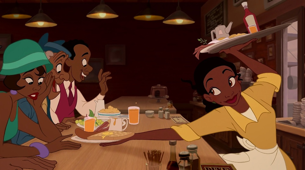Above: Princess Tiana proved to be a different kind of princess when working toward her dreams. Stock Photo.